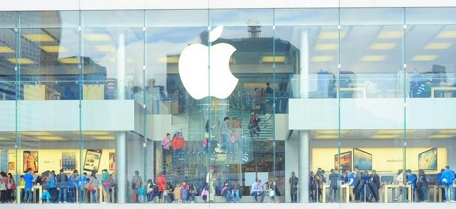Weitere Anträge: Apple-Aktie schließt fester: USA gewähren Apple bestimmte Ausnahmen von China-Zöllen | Nachricht | finanzen.net