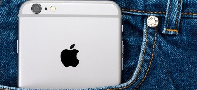 Apple-Aktie aktuell: Apple mit negativen Vorzeichen