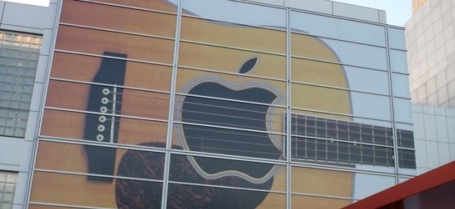 Konkurrenzkampf: Apple bringt Mehrkanal-Songs in Musikstreaming-Dienst - Aktie schwächer   Nachricht   finanzen.net