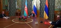 Армения и Азербайджан договорились прекратить огонь в Нагорном Карабахе