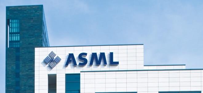 Keine Verunsicherung: ASML-Aktie im Fokus: ASML will nach Delle zurück in die Spur | Nachricht | finanzen.net