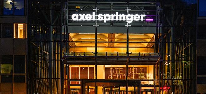 Bei 'Bild' und 'Welt': Axel Springer äußert sich zurückhaltend zu Bericht über Jobabbau | Nachricht | finanzen.net