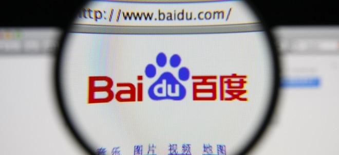 Euro am Sonntag-Aktien-Check: Baidu-Aktie: US-Hedgefonds verkaufte massiv | Nachricht | finanzen.net