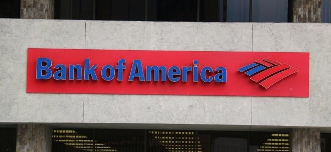 Bankbilanz steht an: Ausblick: Bank of America stellt Quartalsergebnis zum abgelaufenen Jahresviertel vor | Nachricht | finanzen.net