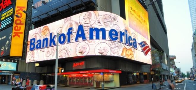Faule Kredite: Bank of America-Aktie fällt drastisch: Quartalsgewinn halbiert | Nachricht | finanzen.net