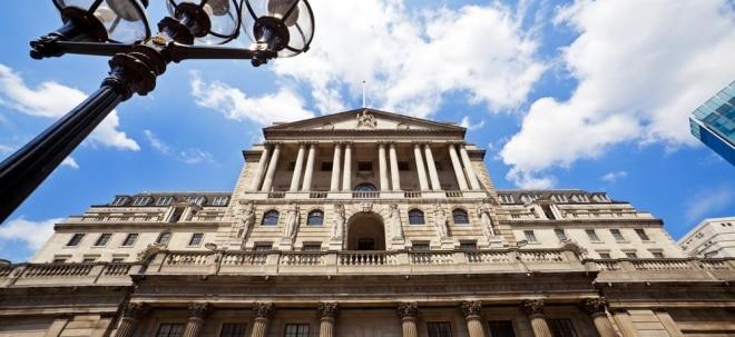 Wie erwartet: Bank of England hält an lockerer Geldpolitik fest | Nachricht | finanzen.net