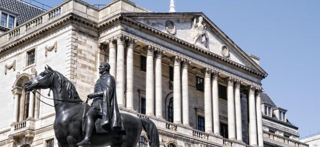 Keine Überraschung: Bank of England bestätigt lockere Geldpolitik - Leitzins unverändert   Nachricht   finanzen.net
