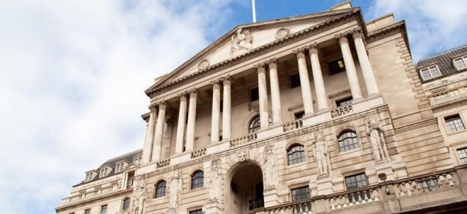 Keine Überraschung: Bank of England hält an Leitzins von 0,10 Prozent fest | Nachricht | finanzen.net