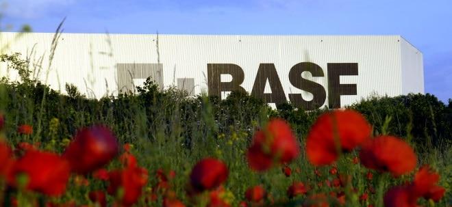 BASF-Aktie aktuell: BASF büßt ein