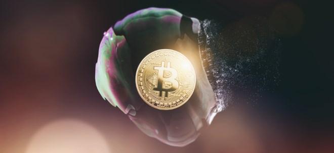 Nach starkem Anstieg: Bitcoin fällt wieder unter 10.000-Dollar-Marke | Nachricht | finanzen.net