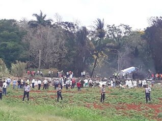 : Boeing passenger jet with over 100 passengers crashes after taking off from Havana