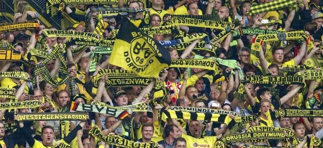 BVB-Aktie legen vorbörslich zu: BVB zieht ins Achtelfinale der Champions League ein