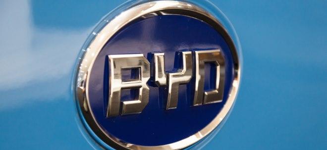 BYD-Aktie aktuell: BYD gewinnt kräftig