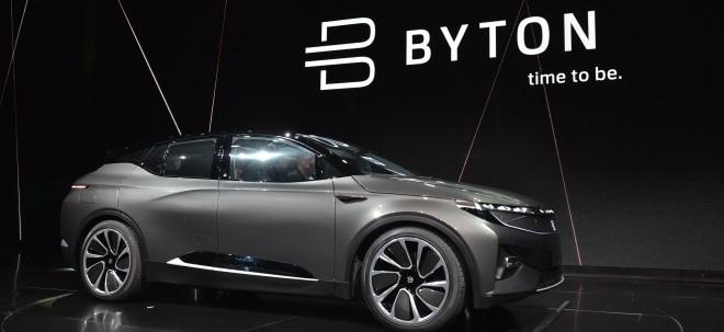 E-Auto mit Entertainment: Tesla-Konkurrenz aus China: Byton sammelt zahlreiche Vorbestellungen | Nachricht | finanzen.net