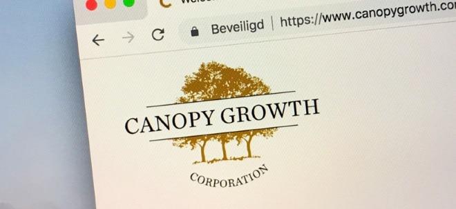 Umsatz gesteigert: Canopy Growth-Aktie knickt ein: Canopy mit mehr Verlust | Nachricht | finanzen.net