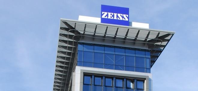Carl Zeiss Meditec-Aktie aktuell: Carl Zeiss Meditec zeigt sich freundlich