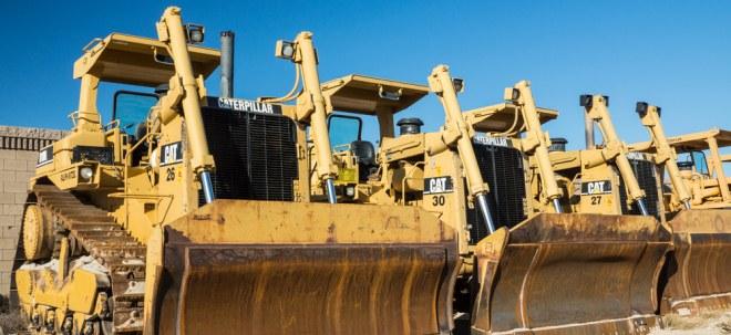 Eintrübende Weltkonjunktur: Caterpillar im Fokus: Baumaschinenspezialist spürt den Handelsstreit | Nachricht | finanzen.net