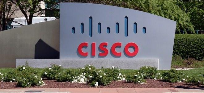 Schlechte Stimmung: Cisco-Aktie fällt: Cisco mit Umsatzrückgang | Nachricht | finanzen.net