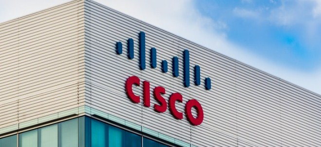 Diverse Belastungsfaktoren: Cisco-Aktie rauscht in die Tiefe: Cisco blickt skeptisch aufs laufende Quartal | Nachricht | finanzen.net