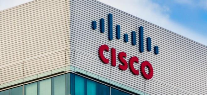 Anteilsschein unter Druck: Cisco steigert Umsatz erneut - Lahmer Ausblick schickt Aktienkurs auf Talfahrt | Nachricht | finanzen.net