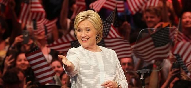 US-Präsidentschaftswahl 2016: Clinton gegen Trump - Wen würde die Börse wählen? | Nachricht | finanzen.net
