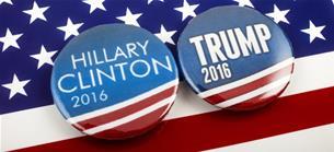 US-Pr�sidentschaftswahl 2016: Clinton gegen Trump - Wen w�rde die B�rse w�hlen?