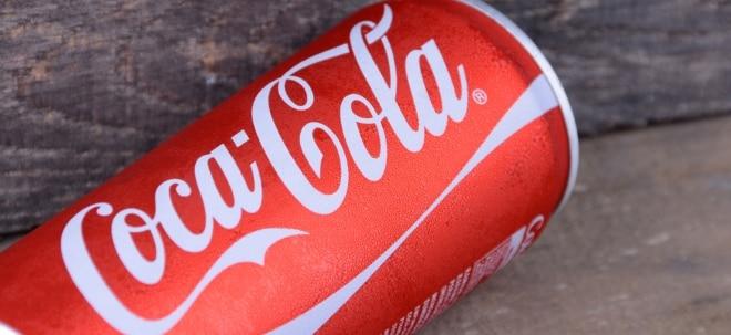 Coca-Cola macht höheren Umsatz - Aktie steigt vorbörslich