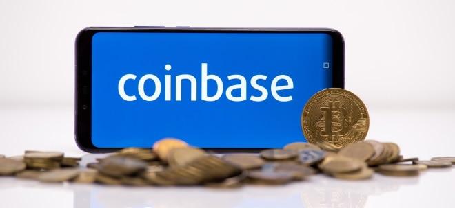 Fehlende Daten: Coinbase-Aktie schwächer: Deutsche Börse stellt Handel mit Coinbase-Aktie ab Freitag zunächst ein | Nachricht | finanzen.net