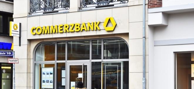 Commerzbank-Aktie aktuell: Commerzbank tiefer