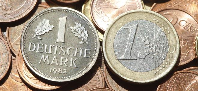 10 Jahre Euro: Mark und Pfennig im Milliardenwert noch immer nicht umgetauscht   Nachricht   finanzen.net