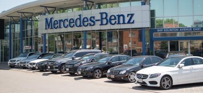 Dank Europa und China: Mercedes-Benz erhöht Absatz | Nachricht | finanzen.net