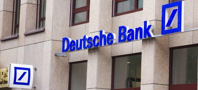Dank Notenbanken: Deutsche Bank will sich weniger Geld am Kapitalmarkt besorgen | Nachricht | finanzen.net