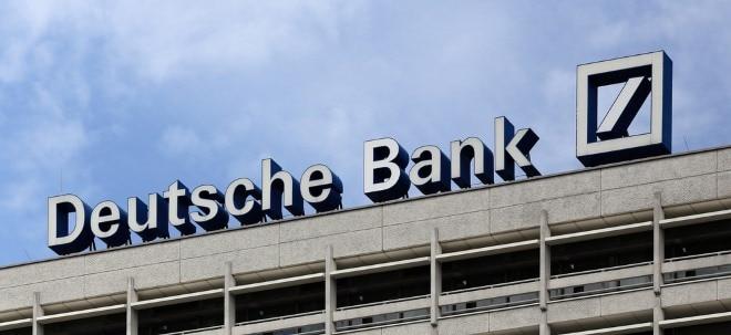 Deutsche Bank-Aktie aktuell: Deutsche Bank zeigt sich fester