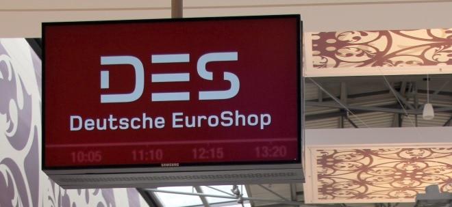 Auf Talfahrt: Deutsche Euroshop-Aktie schwach - DZ Bank: Kursreaktion 'überzogen' | Nachricht | finanzen.net