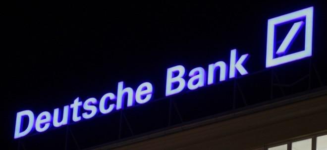 Fortschritte: EZB senkt Kapitalanforderung für Deutsche Bank leicht | Nachricht | finanzen.net