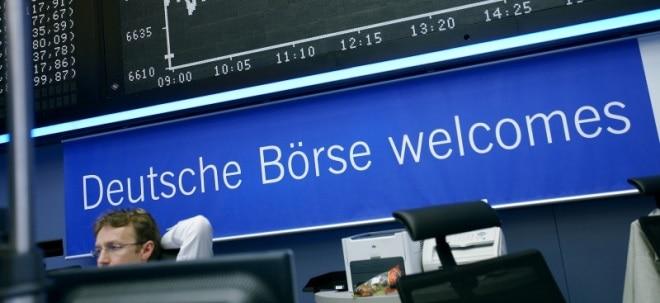 Deutsche Börse-Aktie fester - Commerzbank sieht weiteres Potenzial