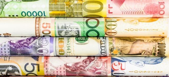 Euro am Sonntag-Devisenwette: Volatile Noten: Diese Währungen sind in der Corona-Krise besonders gefragt | Nachricht | finanzen.net