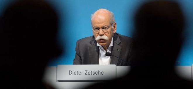 Neuer Job: Zetsche soll wohl nächste Woche TUI-Aufsichtsratschef werden | Nachricht | finanzen.net