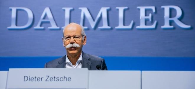Nach Gewinnwarnung: Daimler-Chef fordert von Politik Unterstützung im Handelsstreit | Nachricht | finanzen.net