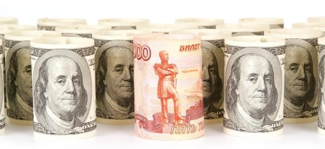 Maßnahmen wirkungslos: Rubel trotz Zinserhöhung im freien Fall | Nachricht | finanzen.net