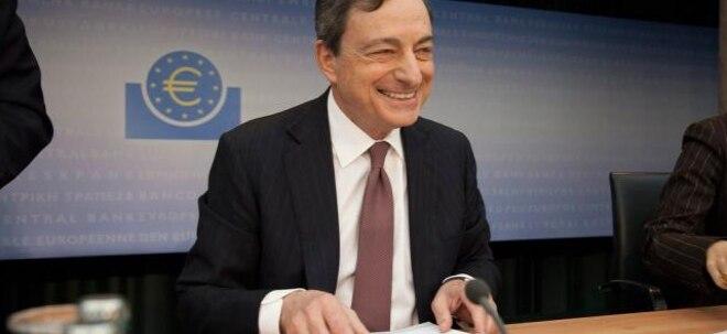 Feste Überzeugung: EZB-Präsident Draghi: Lockere Geldpolitik weiter nötig | Nachricht | finanzen.net