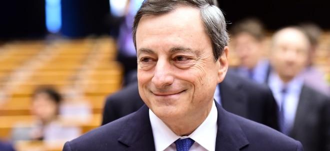Feste Überzeugung: EZB-Präsident Draghi: Lockere Geldpolitik weiter nötig   Nachricht   finanzen.net