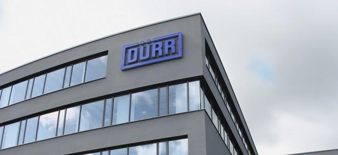 Kaufempfehlung: Dürr-Aktien im festen Autosektor unter den MDAX-TopWerten | Nachricht | finanzen.net
