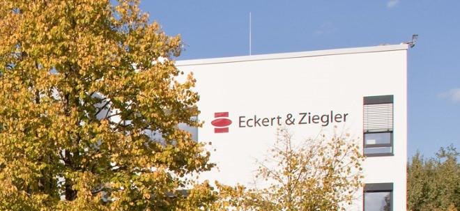 Vorläufige Zahlen: Eckert & Ziegler-Aktie auf Rekordhoch: Mehr als erwartet verdient | Nachricht | finanzen.net