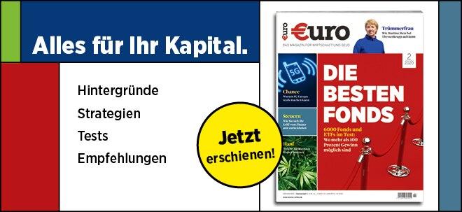 Jetzt im Handel!: Neues €uro Magazin: 6000 Fonds und ETFs im Test: Das sind die besten Fonds   Nachricht   finanzen.net