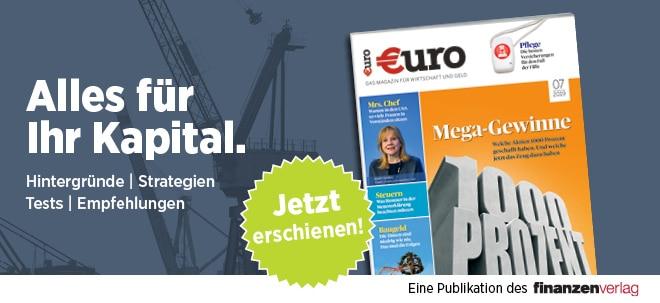 Neues €uro Magazin - Mega Gewinne: Die 1000-Prozent-Aktien