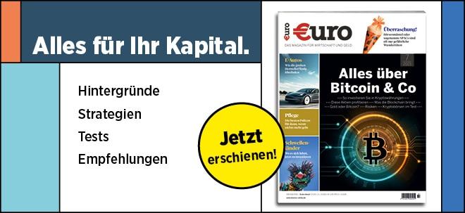 Neu im Handel: €uro Magazin: Was Sie schon immer wissen wollten - Alles über Bitcoin & Co | Nachricht | finanzen.net