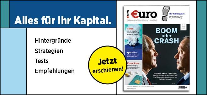 Jetzt im Handel!: Neues €uro Magazin: Boom oder Crash? | Nachricht | finanzen.net