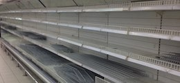 empty shelves food supermarket 1