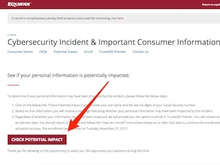 : Equifax mistakenly told consumers worried about its data breach to go to a spoof site (EFX)